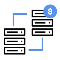 Integrate and link your service data easily to core banking backend systems.