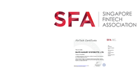 Singapore Fintech Association Certified